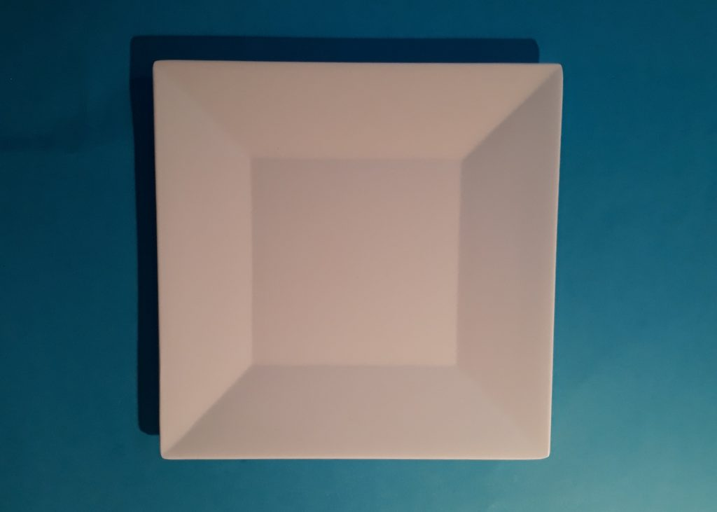 Small Square Plate Image
