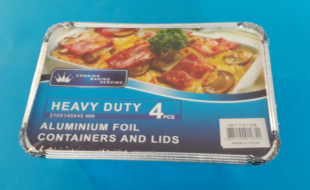 Foil Tray (4 pack) Image
